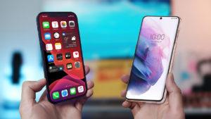 Apple iPhone 12 Pro Max vs Samsung Galaxy S21 Ultra - comparison
